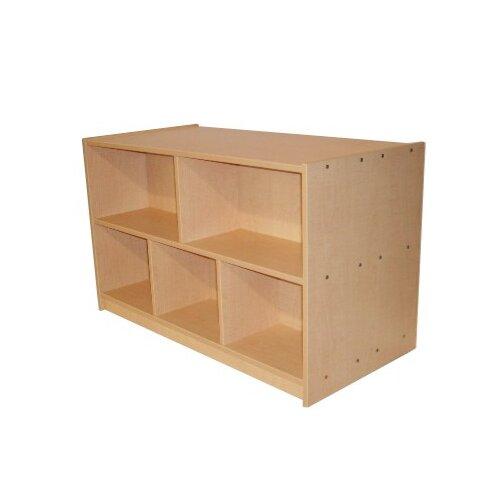 Mahar Preschool Double-Sided Storage Unit