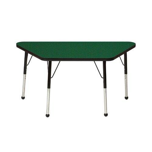 """Mahar 60"""" x 30"""" Trapezoidal Classroom Table"""