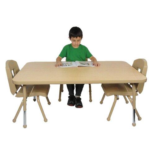 "Mahar 72"" x 30"" Rectangular Classroom Table"