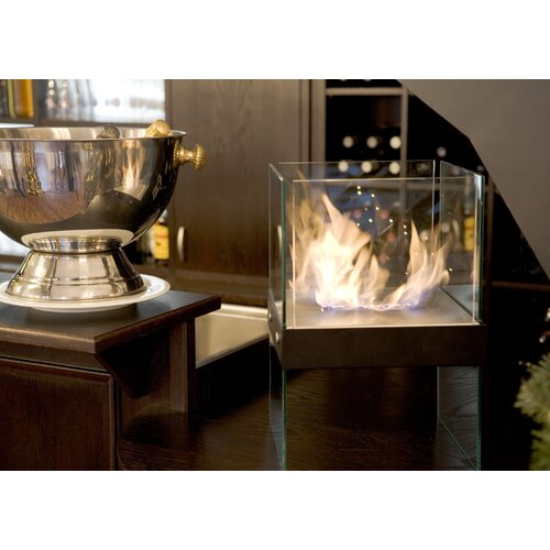 Buschbeck Fire Dance Cube Bio Ethanol Indoor/Outdoor Fireplace