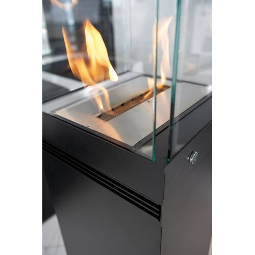 Buschbeck Hi Cube Fire Dance Tower Bio Ethanol Indoor/Outdoor Fireplace