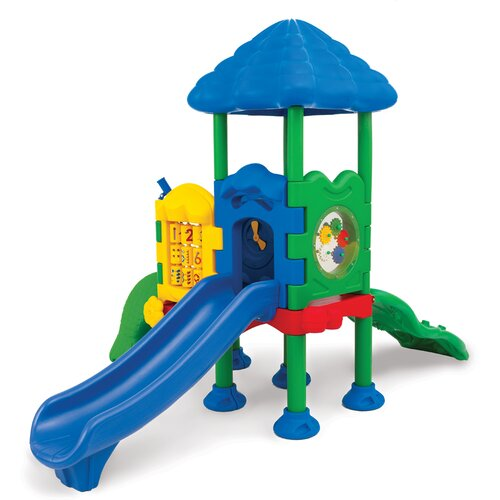 Ultra Play Discovery Center 2 Deck Play Structure with Roof