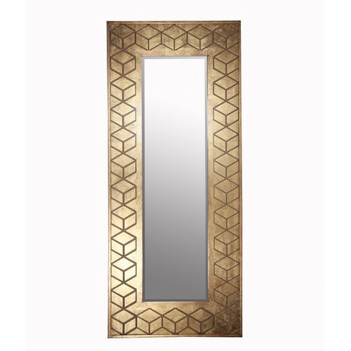 Wooden Leaner Mirror