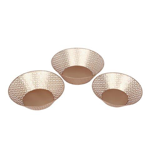 3 Piece Bowl Set