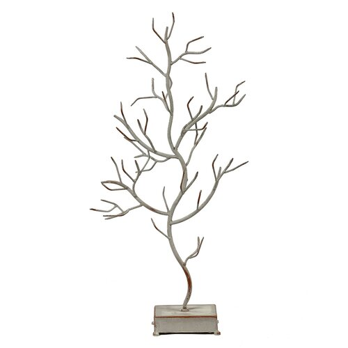 Tree Branches Decor on Stand Statue