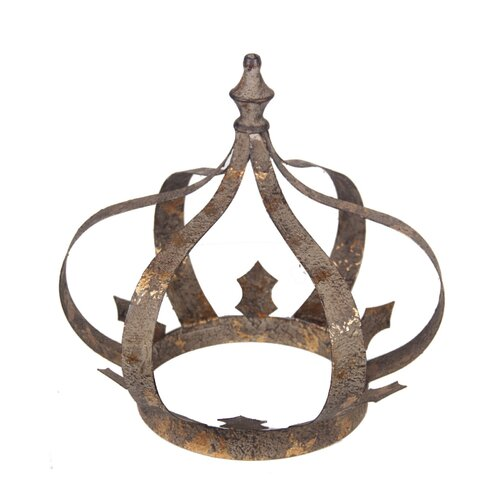 Crown Decor Figurine