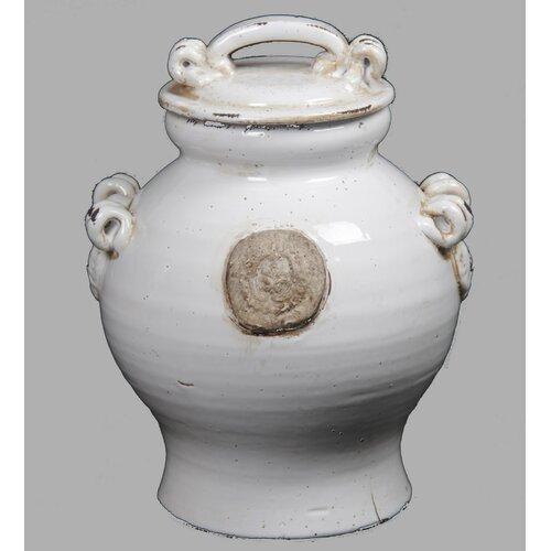 Millano Lidded Decorative Urn