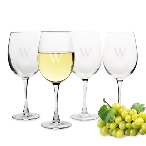 Cathys Concepts Gifts White Wine Glass