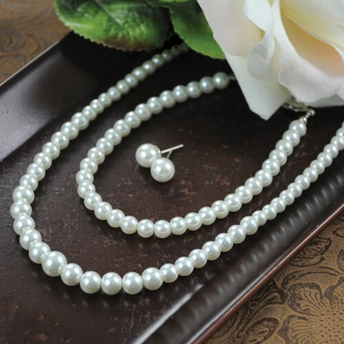 Cathys Concepts Graduated 3 Piece Cultured Pearl Jewelry Collection