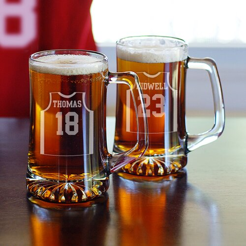 2 Piece Basketball Jersey Mug Set
