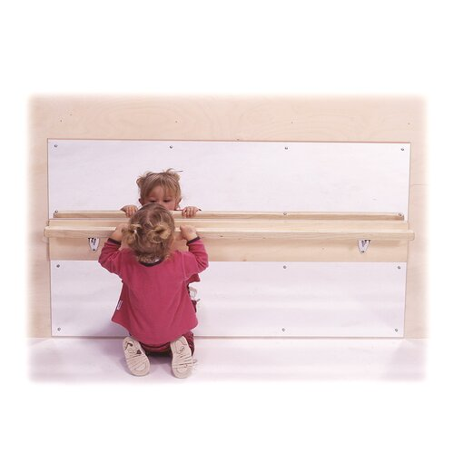 """Steffy Wood Products 31"""" H x 48"""" W Infant Wall Mirror"""