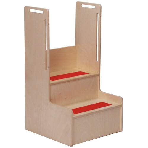 "Steffy Wood Products 2-Step ""I Can Reach"" Handy Step Stool"
