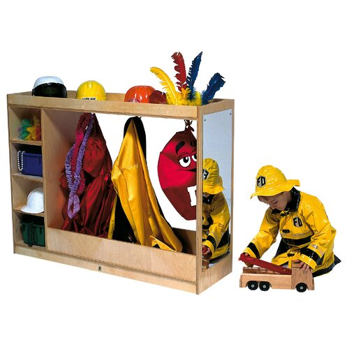 Steffy Wood Products Deluxe Dress-Up Storage Unit