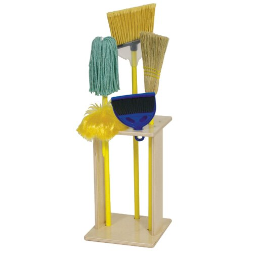 Steffy Wood Products Housecleaning Set