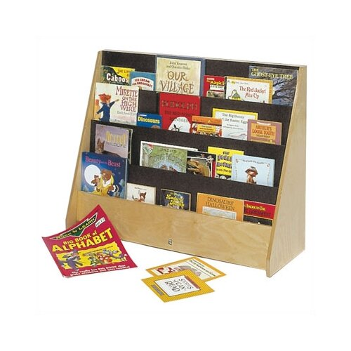 "Steffy Wood Products Big 28"" Book Display"