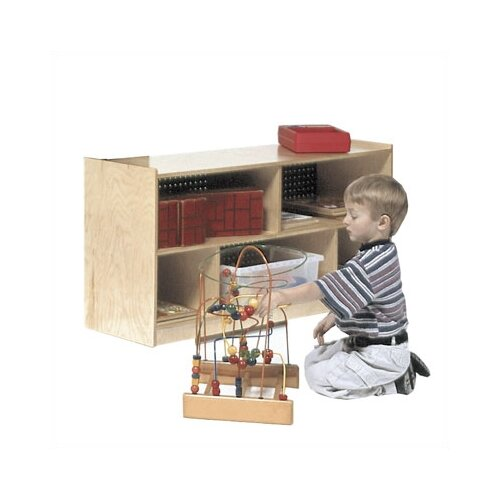 Steffy Wood Products Mobile Toddler Storage Unit
