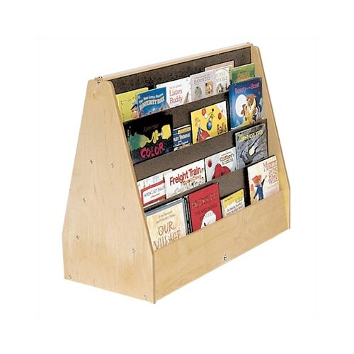 "Steffy Wood Products Double-Sided 28"" Book Display"