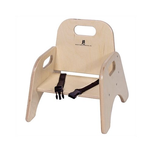 "Steffy 9"" Wood Classroom Toddler Stackable Chair with"