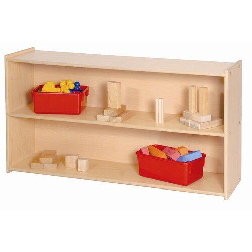 Steffy Wood Products Two Shelf Storage