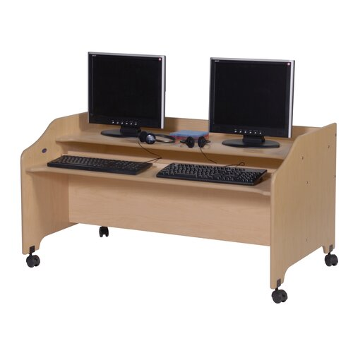 Steffy Wood Products Value Line Computer Station