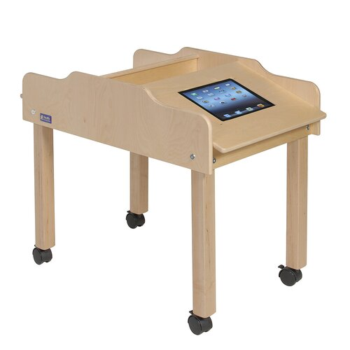 Steffy Wood Products Double Sided Technology Table