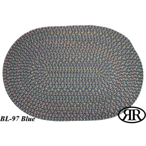 Rhody Rug Blossom Blue Multi Indoor/Outdoor Rug