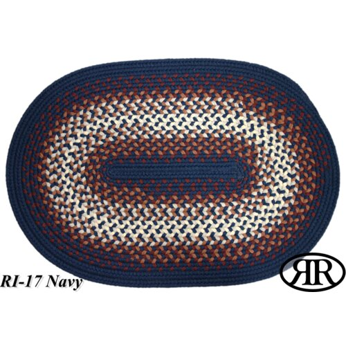 Rio Navy Multi Indoor/Outdoor Rug