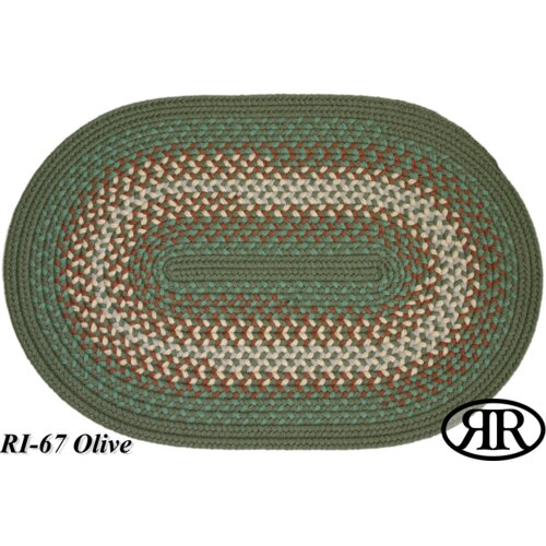 Rhody Rug Rio Olive Indoor/Outdoor Rug