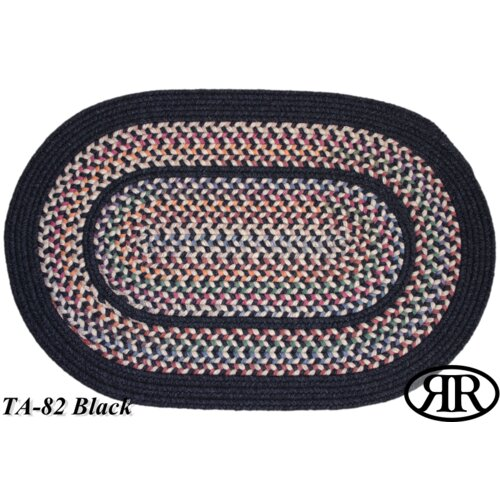 Tapestry Black Multi Rug