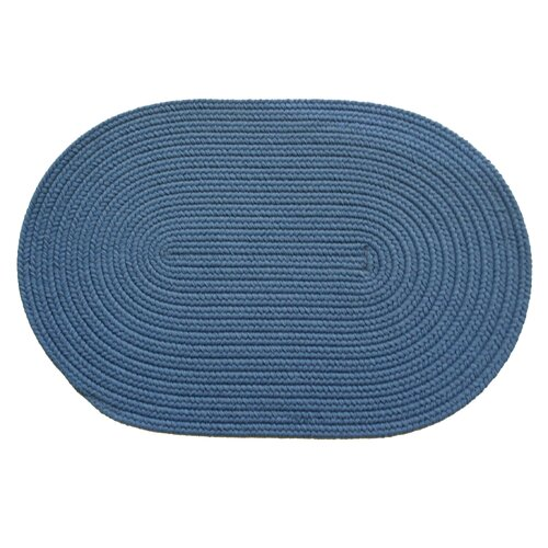Solid French Blue Indoor/Outdoor Rug