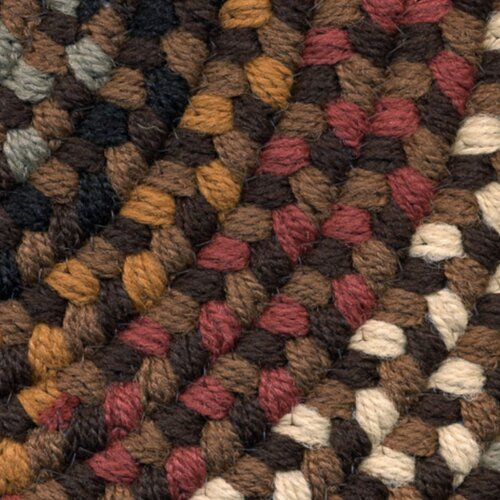 Rhody Rug Pilgrim Brown Multi Indoor/Outdoor Rug