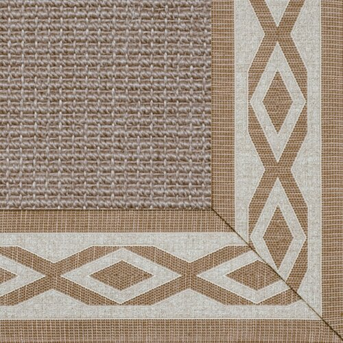 Fibreworks Paradise Retreat Jumbo Boucle Honey Wheat Bordered Rug