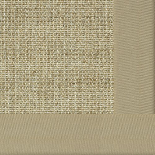 Paradise Retreat Jumbo Boucle Pale Ash Bordered Rug