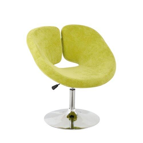 International Design USA Pluto Adjustable Leisure Fabric Side Chair