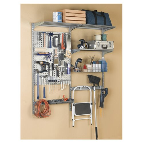 """Triton Products 66""""Lx63""""H Double LocBoard System"""