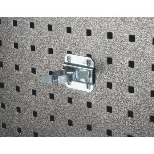 LocHook 1 In. to 2 In. Hold Range 2-3/4 In. Projection Zinc Plated/Chromate Dipped Steel ...