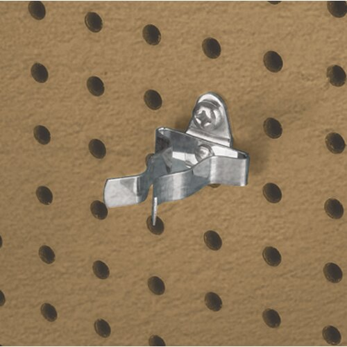 DuraHook 3/4 In. to 1-1/4 In. Hold Range 2-1/8 In. Projection Annealed Chromate Dipped Steel ...