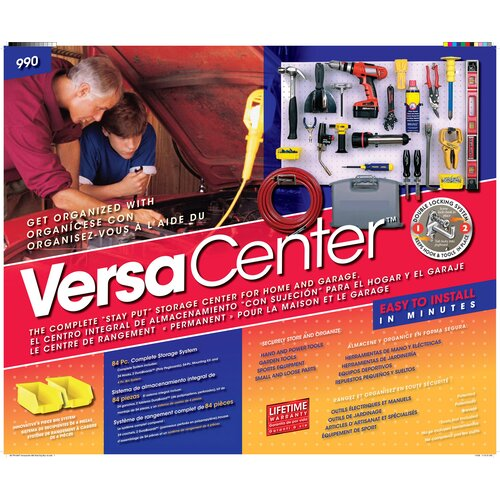 Triton Products VersaCenter Wall Organizer