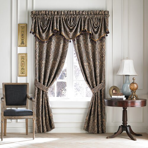 Croscill Home Fashions Zm2219 Zarina Window Treatment