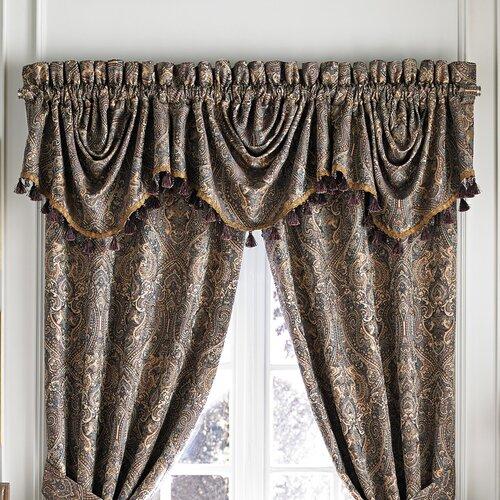 Croscill Home Fashions ZM2176 Zarina Curtain Valance – Curtains ...
