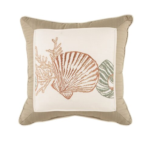 Croscill Home Fashions Seashore Fashion Throw Pillow