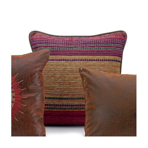 Plateau Multicolored Square Pillow