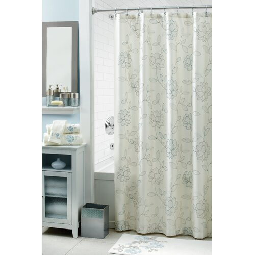 Croscill Melody Polyester Shower Curtain Reviews Wayfair