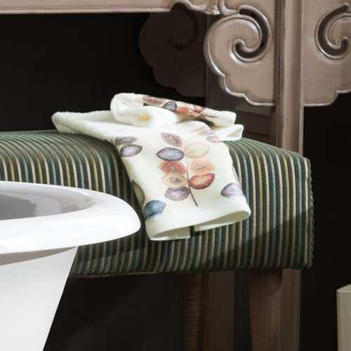 Mosaic Leaves Hand Towel