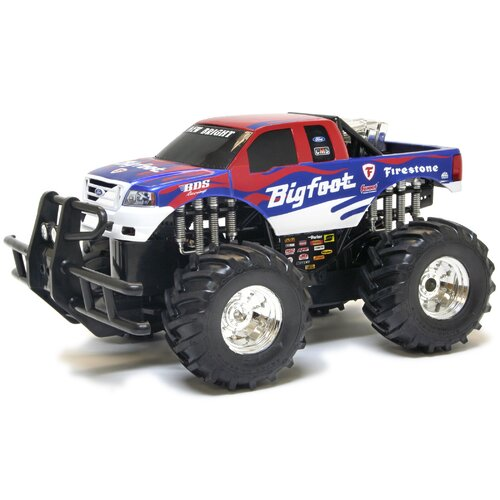 New Bright Monster Extreme Big Foot Summit 9.6V 1:14 Scale Remote Control Truck