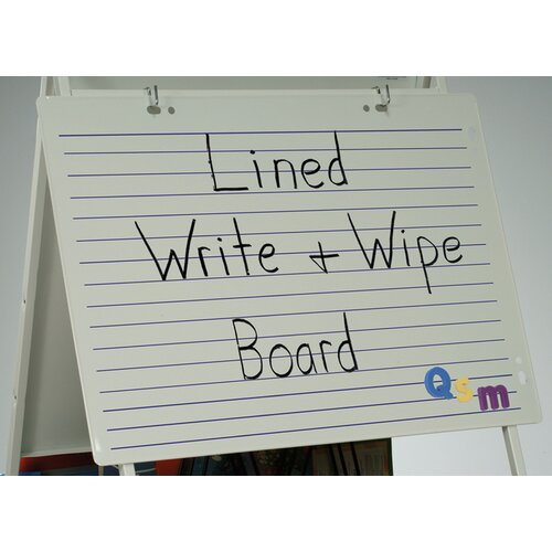 Copernicus Magnetic Double Sided Dry Erase 2' x 2.83' White Board