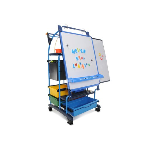 Copernicus Inspiration Station with 1 Premium Tech Tub 5.38' x 2.5' White Board