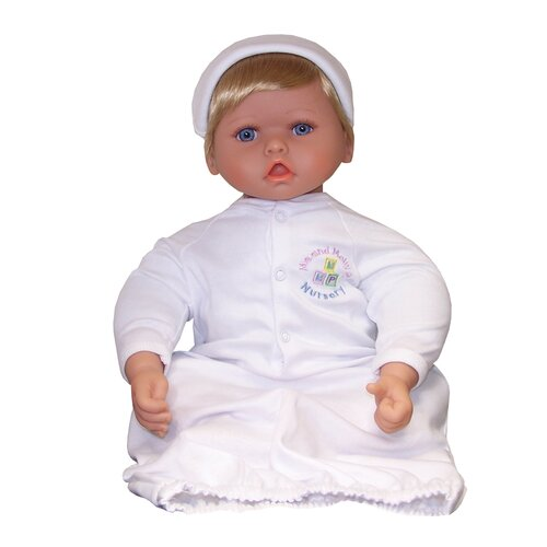 "Molly P. Originals 20"" Nursery Collection Baby Doll Blue Eyes / Medium Blonde"