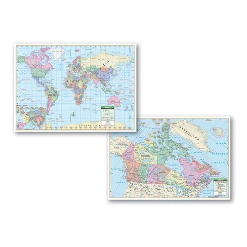 Universal Map Primary Deskpad - Canada / World