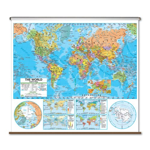 Universal Map Advanced Political Map - World